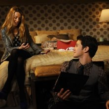 I fratelli van der Woodsen (Blake Lively e Connor Paolo) nell'episodio While You Weren't Sleeping di Gossip Girl
