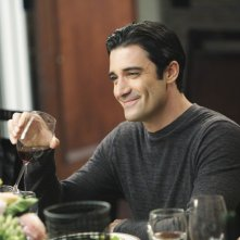 Luc Laurent (Gilles Marini) in una scena dell'episodio Safe at Home di Brothers & Sisters
