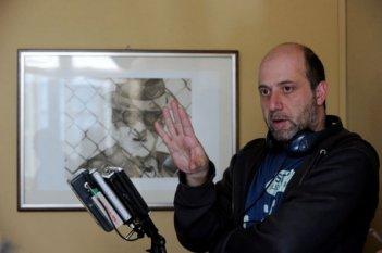 Andrea Molaioli sul set del film Il gioiellino