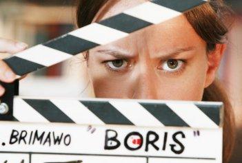 Caterina Guzzanti  in Boris il film