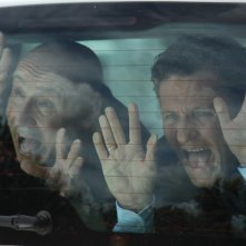 Enzo Salvi e Maurizio Battista in coppia per il film Una cella in due