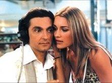Vincenzo Salemme e Alena Seredova nel film Ho visto le stelle