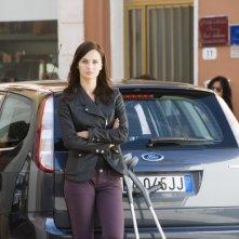 Anna Safroncik è Marta Rivera nella seconda stagione della serie Il commissario Manara