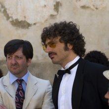 Guido Caprino e Augusto Fornari nell'episodio Matrimonio con delitto della serie Il commissario Manara