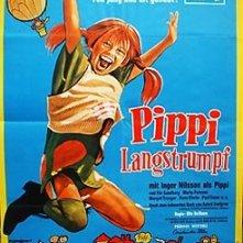 La locandina di Pippi Calzelunghe e il Tesoro di Capitan Kid