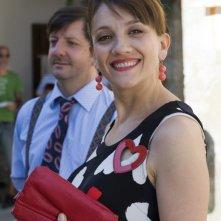 Lucia Ocone e Augusto Fornari nell'episodio Matrimonio con delitto della serie Il commissario Manara