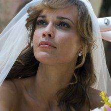 Roberta Giarrusso sposa nell'episodio Matrimonio con delitto della serie Il commissario Manara