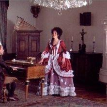 F. Murray Abraham in una scena del film Amadeus (1984)