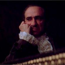 F. Murray Abraham in una sequenza del film Amadeus (1984)
