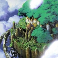 La leggendaria Laputa: castello nel cielo del film di Hayao Miyazaki