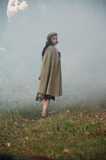 Lara Guirao in una sequenza di Le stelle inquiete