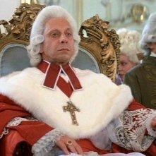 Nicholas Kepros in una sequenza del film Amadeus (1984)
