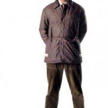Richard Ayoade è Moss in una foto promozionale della stagione 4 di IT Crowd
