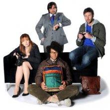 The IT Crowd: una foto promozionale del cast della quarta stagione