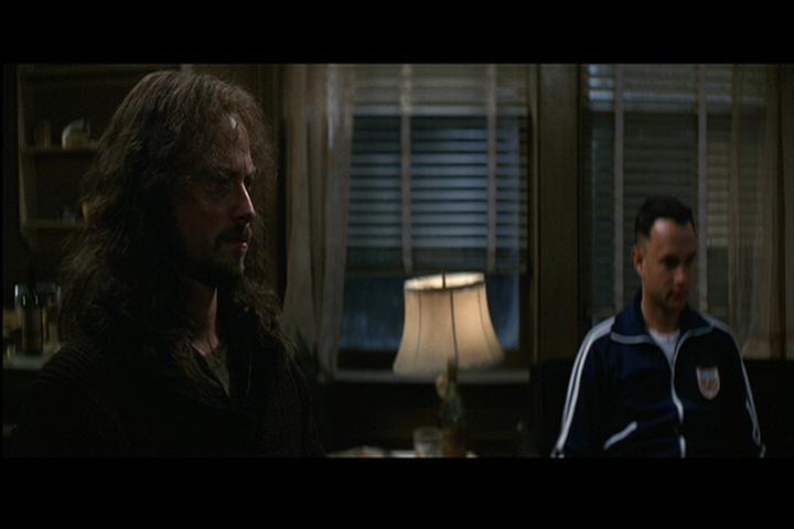 Gary Sinise E Tom Hanks Sullo Sfondo In Una Scena Del Film Forrest Gump 1994 195228