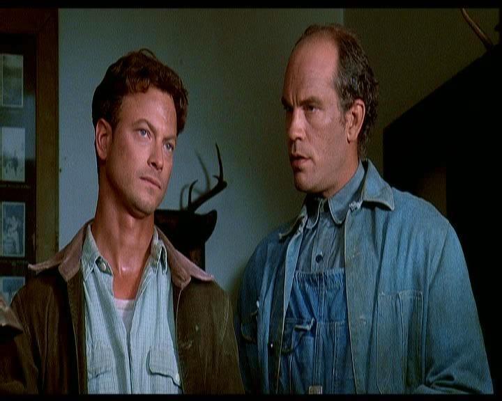 Gary Sinise In Una Scena Del Film Uomini E Topi 1992 Accanto A John Malkovich 195262
