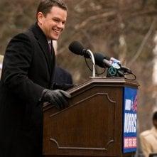 Matt Damon in un'immagine del film I guardiani del destino