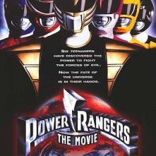 La locandina di Power Rangers - Il film