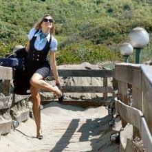 Claudia Zanella nel film Tutti al mare
