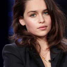 Emilia Clarke, ad una presentazione di Game of Thrones del 2011