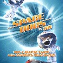 La locandina italiana di Space Dogs 3D
