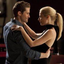 Matthew Morrison e Gwyneth Paltrow nell'episodio Sexy di Glee
