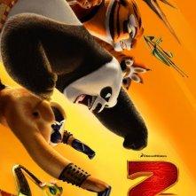 Nuovo poster USA per Kung Fu Panda 2