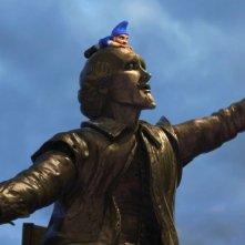 La statua del Bardo nel film Gnomeo & Juliet