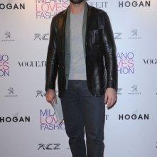 Luca Calvani in occasione di un concerto dei Duran Duran al Teatro del Verme (MI)