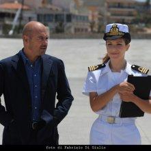 Luca Zingaretti ed Isabella Ragonese nell'episodio L'età del dubbio de Il commissario Montalbano