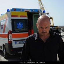 Luca Zingaretti in una scena dell'episodio L'età del dubbio de Il commissario Montalbano