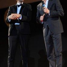 Taormina Film Fest 2010: Luca Calvani accanto a Colin Firth.