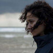 Primo piano di Rachida Brakni dal film La ligne droite