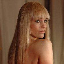 Carla Gugino, protagonista del film Elektra Luxx