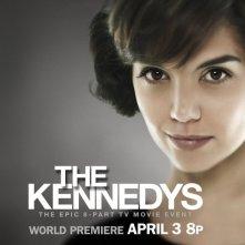 Character poster per il personaggio di Katie Holmes nella miniserie The Kennedys