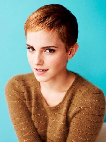 Emma Watson con il nuovo taglio