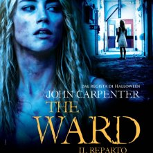 La locandina italiana di The Ward - Il reparto