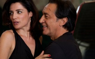 Luisa Ranieri con Richard Berry nel film Le marquis