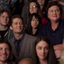 Matthew Morrison e Dot Jones nell'episodio Blame It on the Alcohol di Glee