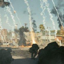 Un drammatico scenario di Battle: Los Angeles