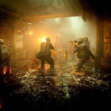 Un'immagine dal film Battle: Los Angeles