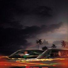 La locandina italiana di Fast & Furious 5