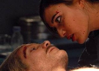Anna Foglietta in una scena del corto 'Il velo di Waltz' di Sergio Stivaletti.