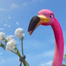 Il fenicottero rosa del film Gnomeo & Juliet