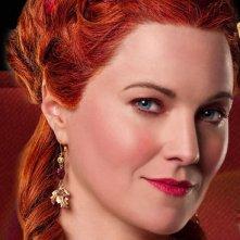 """Lucy Lawless nel ruolo di \""""Lucretia\"""" in Spartacus: Sangue e sabbia"""