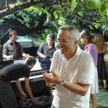 Marco Bellocchio sul set del film Sorelle Mai
