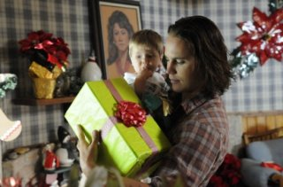 Taylor Kitsch in una scena dell'espisodio finale di Friday Night Lights Always