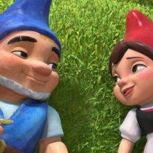 Un momento di felicità per gli innamorati Gnomeo & Juliet