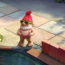 Uno gnomo borattiano nel film Gnomeo & Juliet