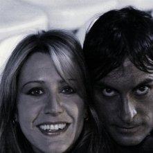Claudio del Falco e Valeria Mei sul set di RABBIA IN PUGNO di Stefano Calvagna